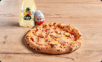 Image de Menu Matru - Pizza Jambon / Emmental
